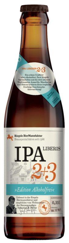 Riegele IPA Liberis 2+3 (alkoholiton)